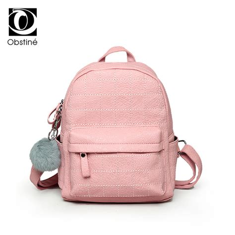 Tas Mini Backpack 21999sn Pink aliexpress buy 2017 pink leather backpack