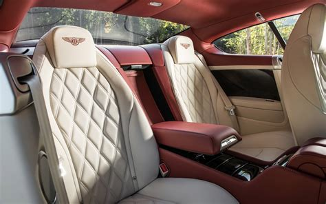 bentley continental interior back seat 2013 bentley continental gt speed first drive motor trend