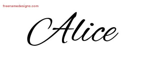 alice archives page 2 of 2 free name designs