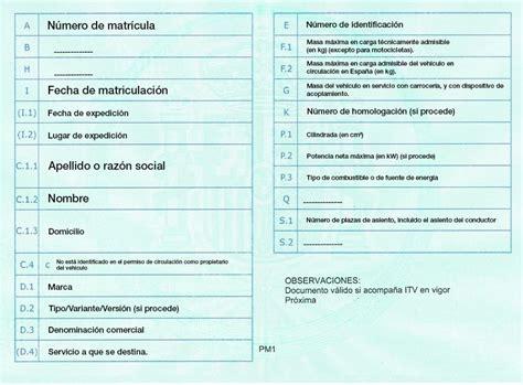 permiso de circulacion el bosque qu 233 documentos tienes que llevar en el coche autopoliza