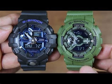 Casio G Shock Ga 710 1a2 casio g shock ga 710 1a2 vs g shock ga 110lp 3a