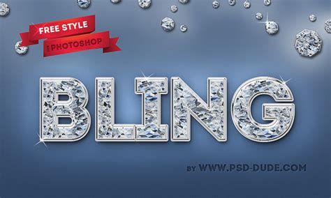 décoration style text generator diamond photoshop free text style psddude