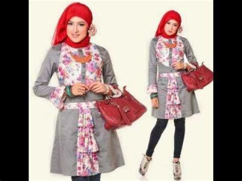 Baju Muslim Wolycrape Wanita Ar2610 trend model baju atasan muslim wanita terbaru 2017