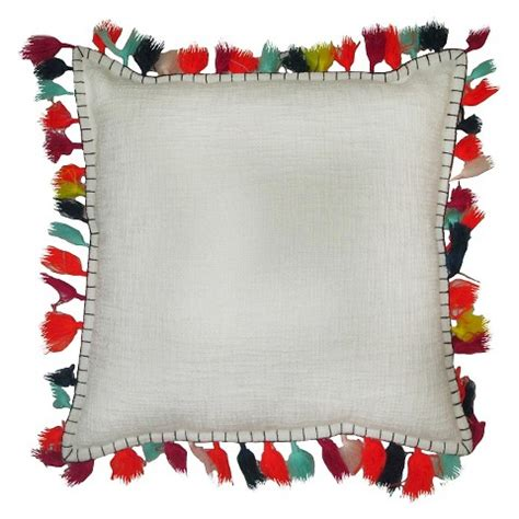 Tassels For Pillows by Pillow With Tassels Threshold Target