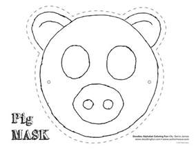 pig template for preschoolers pig mask theatrics kiddos play craft coloring