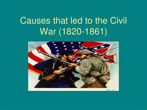sectionalism leading to the civil war causes of the civil war