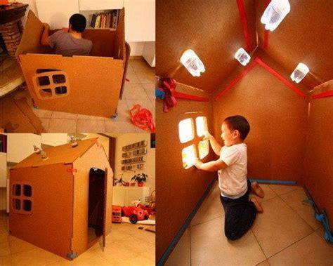 cassette di cartone casette di cartone per bambini fai da te idee e tutorial