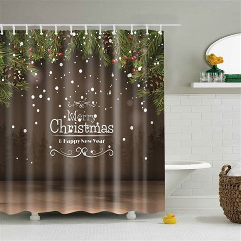 christmas bathroom curtains bathroom product coffee new year christmas bathroom