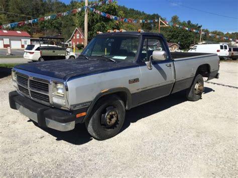 dodge ram 350 1991 dodge ram 350 dually cummins diesel ram 3500 no