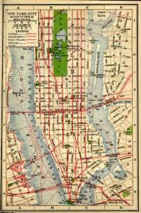 A Map Of New York City by Historical New York City Amp Manhattan Maps
