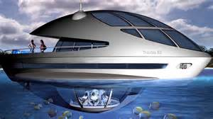 An eco yacht with an underwater home youtube