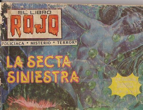 libro el terror rojo cine comics y series de tv el libro rojo revistas de misterio y terror