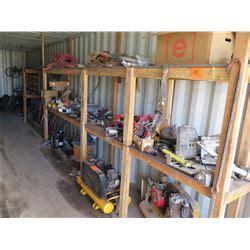 contents of shelf 2 air compressors deere cat