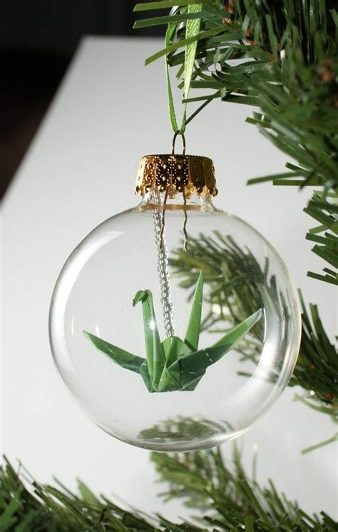 Origami Ornament - diy ornament