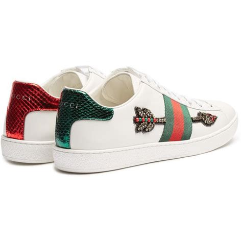Bee Embroidery Platform Sneakers best 25 gucci sneakers ideas on