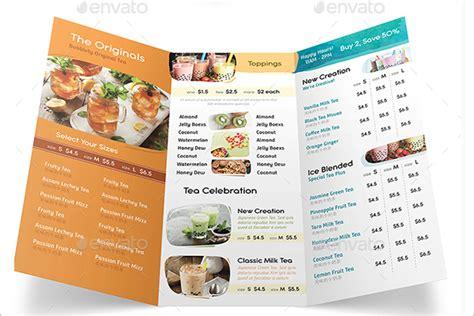 tri fold restaurant menu templates free 46 tri fold menu templates free word psd designs