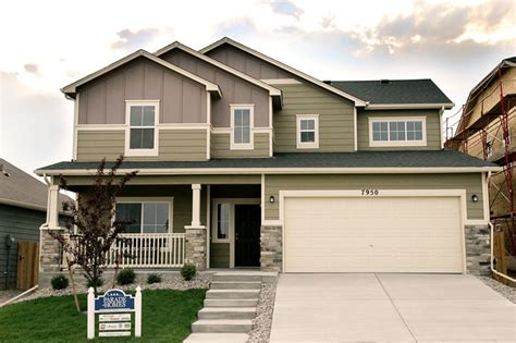 new homes in colorado springs traditional exterior