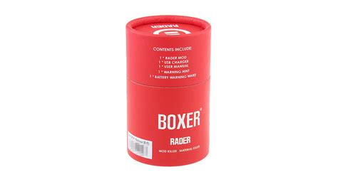 Boxer Rader 211w Tc Box Mod Authentic By Hugo Vapor 33 99 authentic hugo vapor boxer rader 211w tc vw apv box