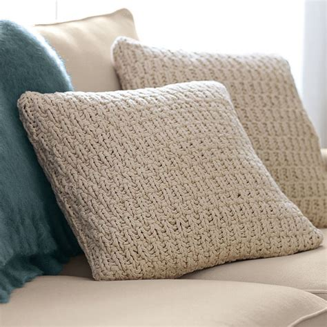 knitted pillow covers size chunky knit pillow cover 26 images frompo