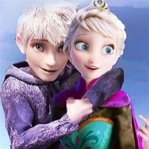 film elsa frozen dan jack frost jack frost and elsa jackelsa hug elsa jack frost
