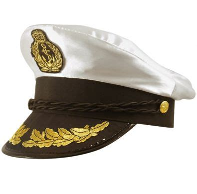 Captain Cap Cooper 2 captains hat nautical hen fancy dress accessory