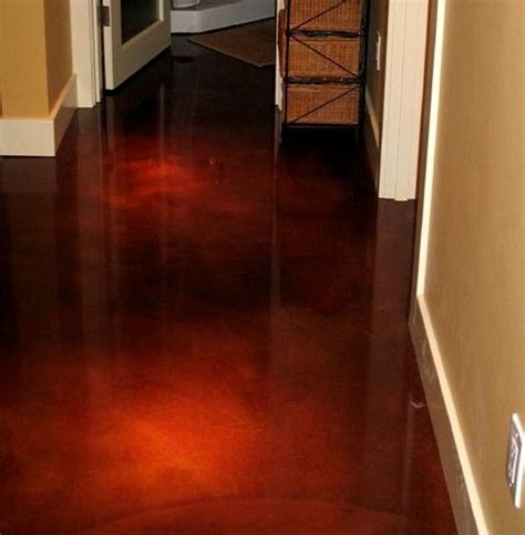 acid wash color cement acid wash floor hubby s office