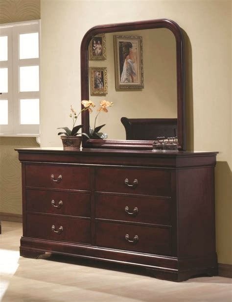 louis philippe sleigh bedroom set louis philippe ii cherry sleigh bedroom set with antique