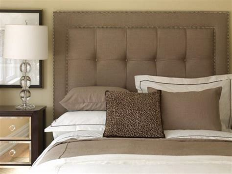 Upholstered Headboard by Make The Diy Custom Made Upholstered Headboards Your Home