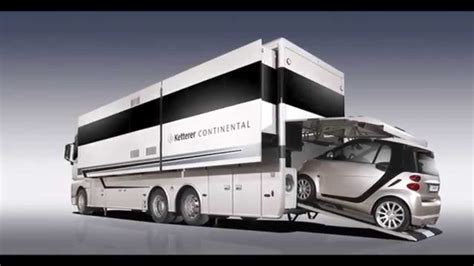 Luxe Home Interior by Ketterer Continental Motorhome Youtube
