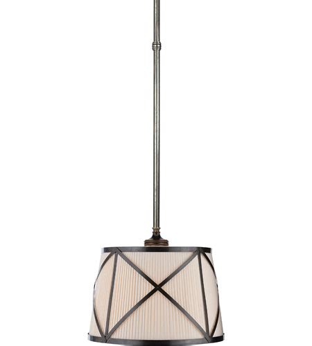 L Shade Pendant by Visual Comfort E F Chapman Grosvenor Single Pendant In
