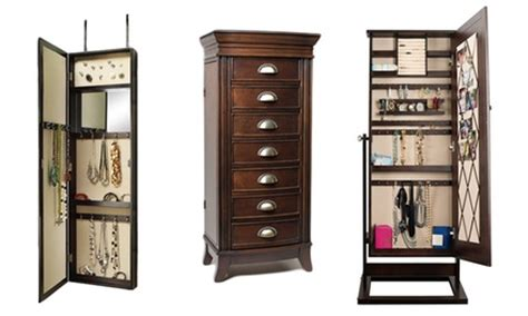 emma jewelry armoire hives honey jewelry armoires groupon goods