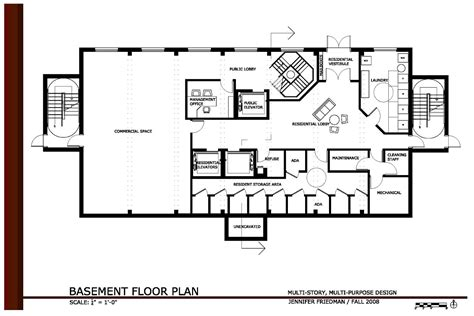 House Plans With Office by Multi Story Purpose Design Friedman Coroflot