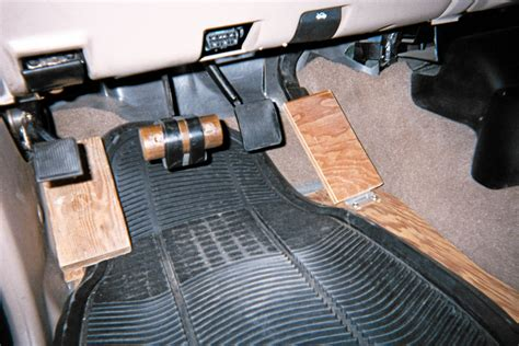 Floor The Accelerator by Floor Mounted Gas Pedal Conversion Meze