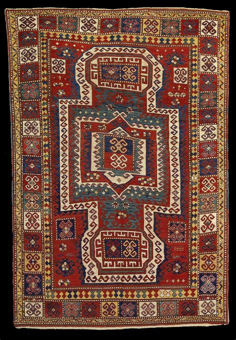 Antique Quot Sevan Quot Kazak Rug Bonhams Fine Oriental Rugs Rugs In Los Angeles