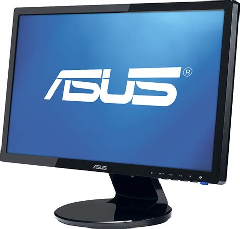 Monitor Lcd Asus asus 20 quot lcd monitor black ve208t best buy