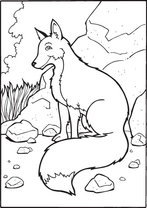 Fox Coloring Pages by Free Printable Fox Coloring Pages For