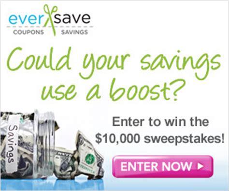 Eversave Sweepstakes - eversave 10 000 sweepstakes and coupons mamal diane