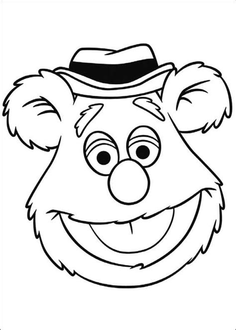 Kids N Fun Com 25 Coloring Pages Of Muppets Muppet Coloring Pages