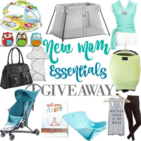 Mom Giveaways 2015 - new mom essentials giveaway happily hughes
