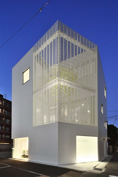 house construction company company building in kanagawa hmaa archdaily