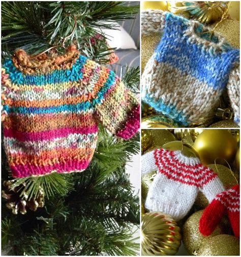 knitting pattern miniature sweater ornament mini christmas sweater ornaments are what you need this
