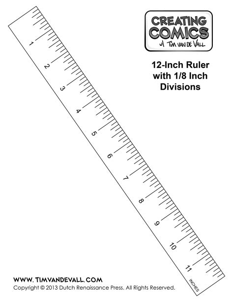 printable free ruler ruler actual size coloring pages