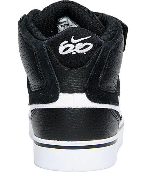 Nike 6 0 Air Mogan nike 6 0 air mogan mid 2 se black white shoes zumiez