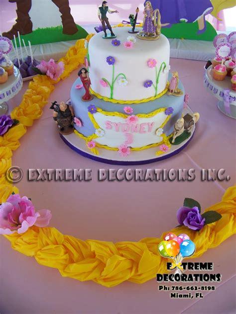 rapunzel cake decorations images