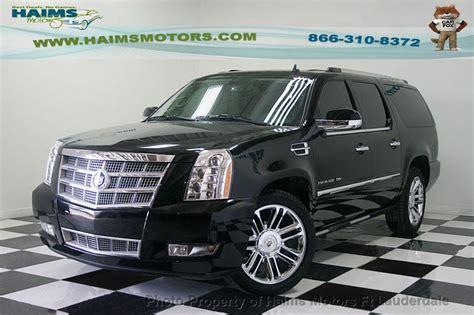 2012 Cadillac Escalade Esv Platinum by 2012 Used Cadillac Escalade Esv Awd 4dr Platinum Edition