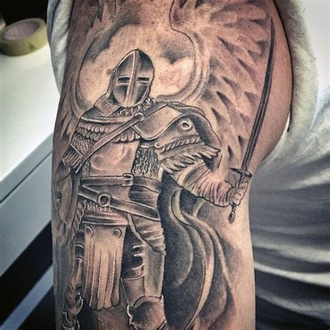 medieval knight tattoo designs top 80 best designs for brave ideas