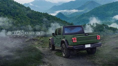 2020 Jeep Jl Rumors by 2020 Jeep Scrambler Render Looks Ready For The Real World