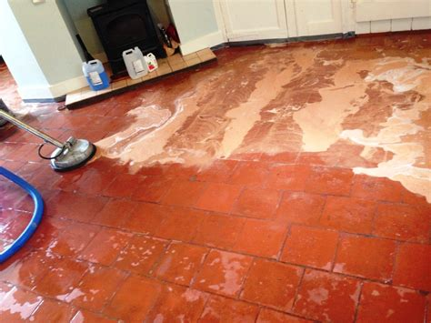 Cleaning Floor Tile by Work History Dorset Tile Doctor