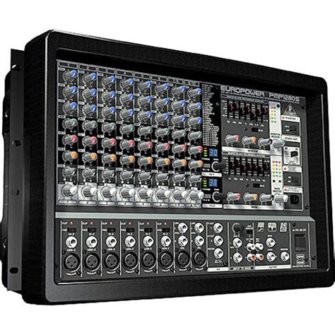 Mixer Audio Behringer 24 Channel behringer pmp1280s 10 channel audio mixer pmp1280s b h photo