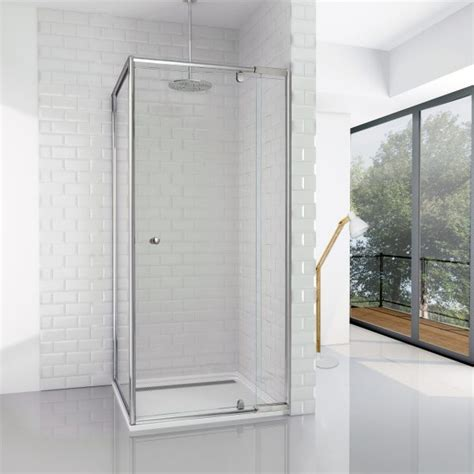 small shower screens for baths elfreda suite shower screen 800 860 front x 825 return x 1850 h pipers international